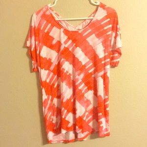 Anthropologie one September top size large